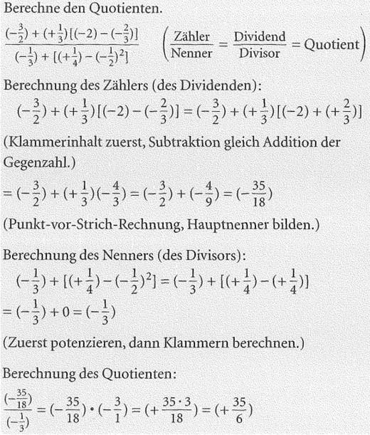 7. Klasse Division Beispiele mit Lösungen-13